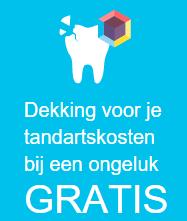 10.000 euro gratis tandarts ongevallen dekking