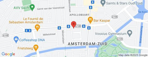 Map van Stadionweg 73 Amsterdam in Nederland