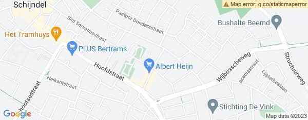 Map van Molenhof 16 Schijndel in Nederland